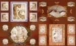 Декупажна хартия, 60 gr/m2, 33 x 48 cm, 1л, Антично