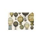 Декупажна хартия с мотиви, 85 g/m2, 50 x 70 cm, 1л, Балони с горещ въздух