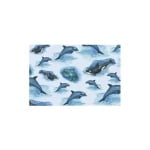 Декупажна хартия с мотиви, 85 g/m2, 50 x 70 cm, 1л, Делфини