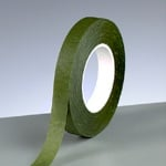 Креп опаковъчна лента, 13 mm, 28 mm, тъмно зелена