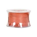 Восъчно памучен шнур, ф 0,5 mm, 9 m, оранжев