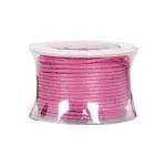Восъчно памучен шнур, ф 0,5 mm, 9 m, розов