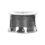 Восъчно памучен шнур, ф 0,5 mm, 9 m, тъмнокафяв