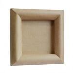 Рамка за картина от папие маше, квадрат, 26x26x2,5cm /16x16cm