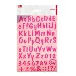 Шаблон, букви + цифри / 73 части, DIN A4