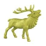 Фигура от папие маше, елен, 25 x 21 cm