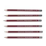 Комплект графитни моливи CLEOS FineArtGraphite, 24 бр., 9H-9B