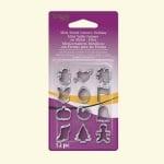 Форми за изрязване Mini Holiday на глина Sculpey, 12 бр.