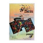 Magic-Paper Regenbogenkarton, 14 x 22 cm, 4л в пакет