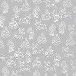 Хартия прозрачна твърда, 115 g/m2, 50 x 60 cm, 1л, Дядо Коледа