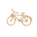 Деко фигурка колело. дърво. 50 mm