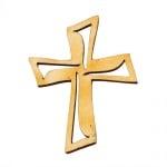 Деко фигурка кръст, дърво, 45 mm