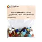 Мозаечни плочки JOY, стъкло, 10x10x4 mm, 104 бр., микс от цветове