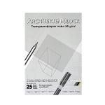 Хартия за архитекти 85 g/m2, А3, 25 л. в пакет, прозрачна