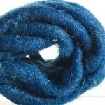 Връзка вълнена, Filzkordel, 5 mm x 20 m, тъмно синя