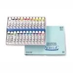 Комплект акрилни бои ARTISTS' ACRYLIC, 20 ml, 24 цв.
