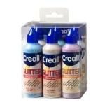 Комплект блестящи бои CREALL Glitter, 6х80 ml