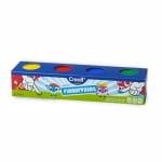 Комплект боички за рисуване с ръце CREALL, 10х750 ml, картон