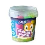 Комплект цветна глина за моделиране CREALL Mini, 350 g, 5 цв.