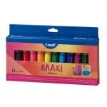 Комплект цветни маркери CREALL Waxi, 12 цвята, 12 бр.