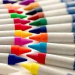 Комплект цветни восъчни пастели CREALL Waxy, 12 цвята, 12 бр.