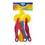 Комплект детски инструменти за работа с глина, 5 части