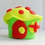 Комплект глина за моделиране CREALL Term, 500g, 5 цвята
