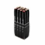Комплект маркери TOUCH TWIN, 12 бр., цветове на кожа А