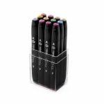 Комплект маркери TOUCH TWIN, 12 бр., пастелни цветове