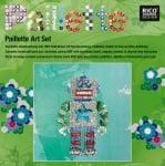 "Комплект мозайка с пайети RicoDesign, ""Робот"", 30.5 x 30.5 cm"