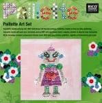 "Комплект мозайка с пайети RicoDesign, ""Роботка"", 30.5 x 30.5 cm"
