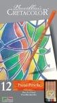 Комплект пастелни моливи CretaColor, FINE ART PASTEL, 12 цвята