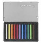 Комплект пастели CretaColor, PASTEL CARRE, 12 цвята