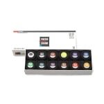 Комплект плакатни бои ARTISTS' POSTER, 40 ml, 12 цв.