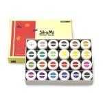 Комплект плакатни бои SHAMI POSTER COLOR, 20 ml