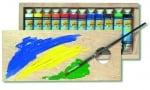 Комплект темперни бои TEMPERA Gouache, 20 ml, 12 цвята