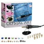 Комплект термо-апликатор Cristal Art, 12 накрайника, 3x1.440 кристала