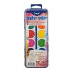 Комплект водни боички CREALL, 12 цвята с четка