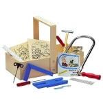 Комплект за дървообработване в дървен сандък