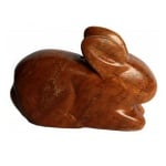 Комплект за изработка на амулет от сапунен камък, сърце