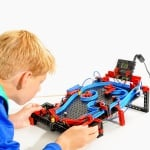 Конструктор FischerTechnik, ROBO TX ELECTROPNEUMATIC, деца над 10 г.