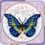 "Креативен комплект Beadwork mistresses  ""Butterfly and berries"""