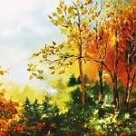 """Креативен комплект Oil painting """"Old lighthouse"""""""