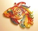Креативен комплект Paper filigree  «Bright sunflower»