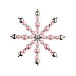 Креативен комплект Pearl Star Craft Kit, Ø 15 cm, 1 брой, роза/ сребро
