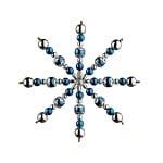 Креативен комплект Pearl Star Craft Kit, Ø 15 cm, 1 брой, синьо/ сребро