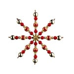 Креативен комплект Pearl Star Craft Kit, Ø 15 cm, 1 брой, златни/ червени