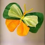 Креп-хартия, 35 g/m2, 50 x 250 cm, 1 ролка, рае бяло/ зелено