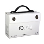 Кутия за маркери TOUCH TWIN, 48 маркера, празна