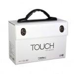 Кутия за маркери TOUCH TWIN BRUSH, 48 маркера, празна
